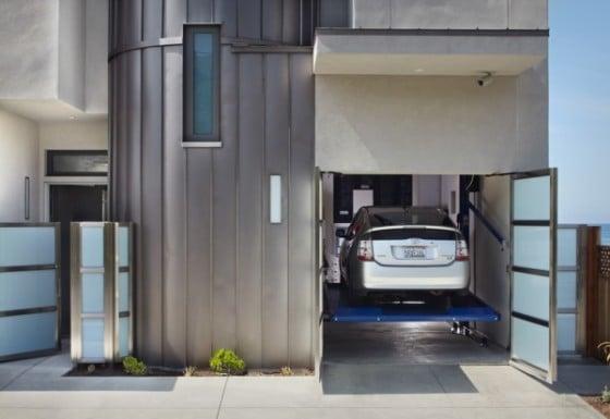 Diseño de estacionamiento levadizo