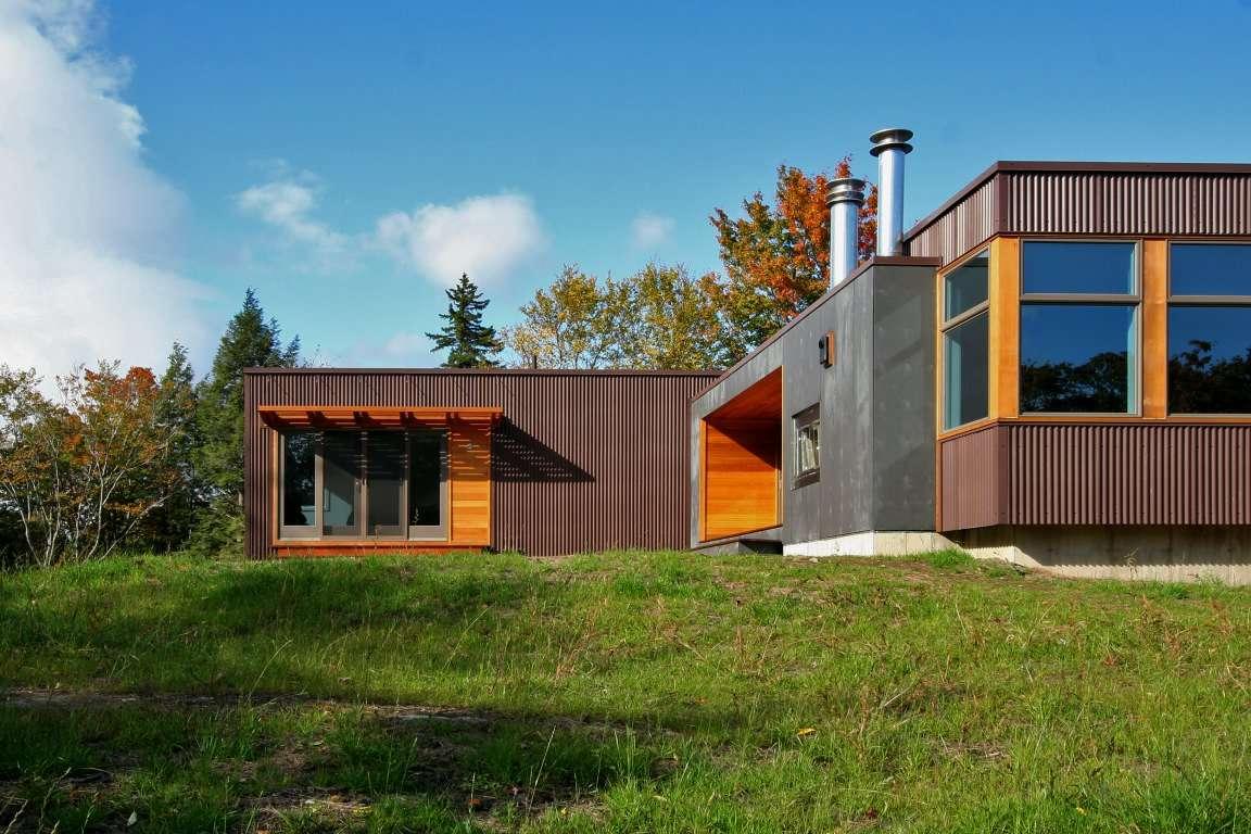 U Shaped Manufactured Home