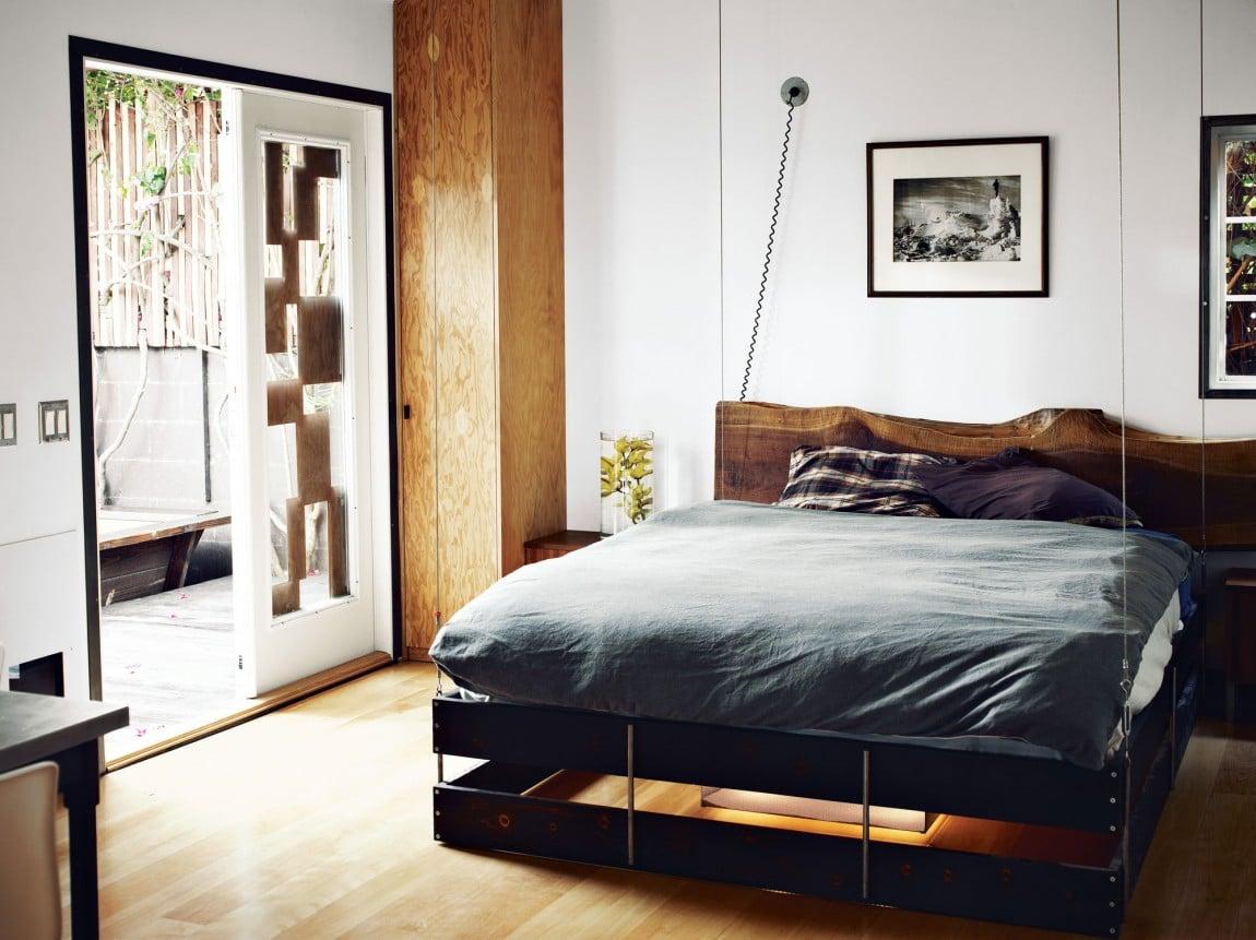 dise o de casa muy peque a de madera fachada e interiores. Black Bedroom Furniture Sets. Home Design Ideas