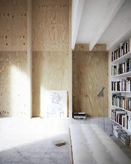 Diseño de interiores de madera
