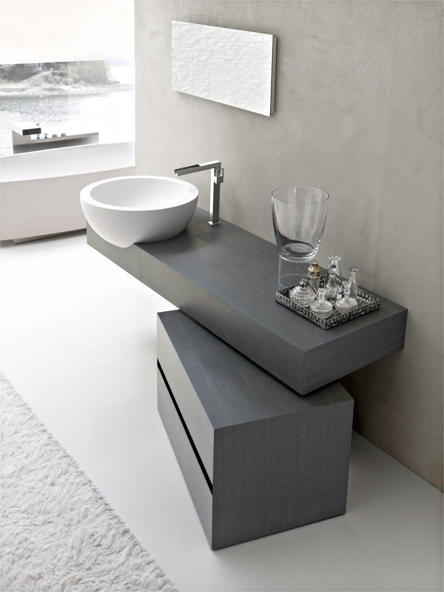 Dise o de cuartos de ba o modernos fotos construye hogar - Mueble de bano diseno ...