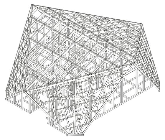 Diseño estructural del techo