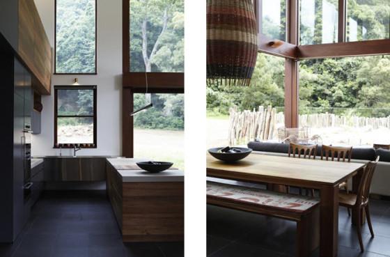 Diseño interiores casa ecológica