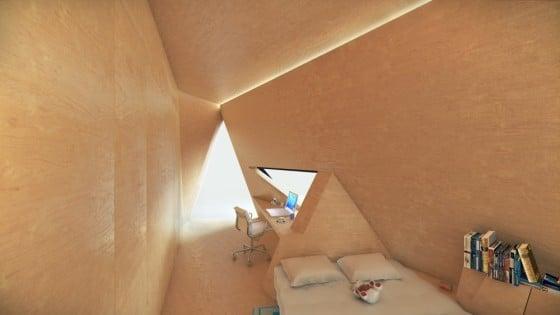 Dormitorio sistema modular
