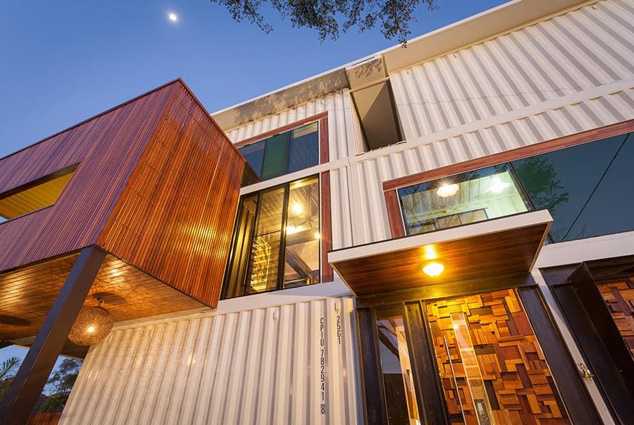 Dise o y construcci n de casa con 36 contenedores reciclados construye hogar - Shipping container homes el tiemblo spain ...