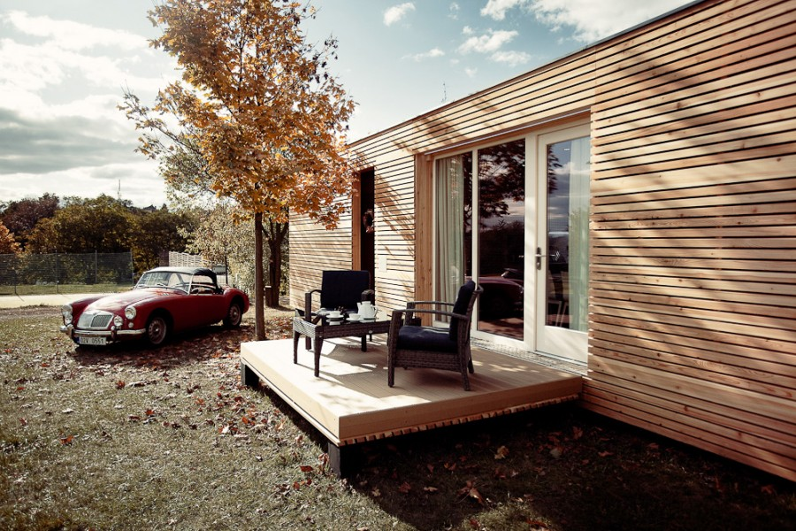 3 modelos de planos de casas peque as de madera - Casitas pequenas de madera ...