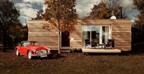 Diseños de casa de madera con planos