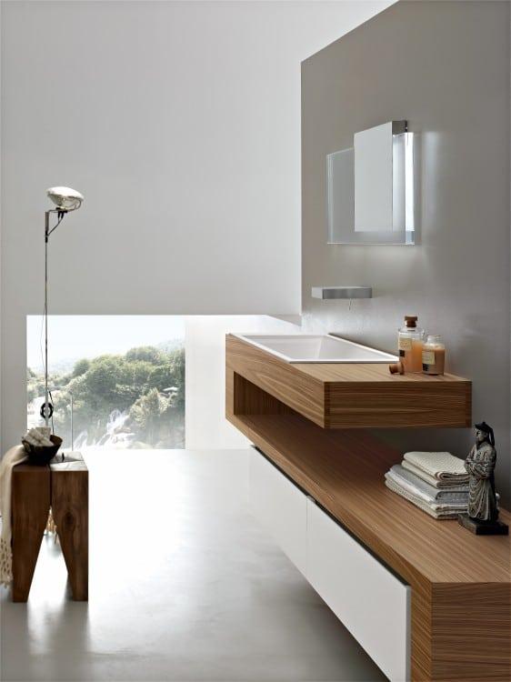 Dise o de cuartos de ba o modernos fotos - Muebles de cuarto de bano modernos ...