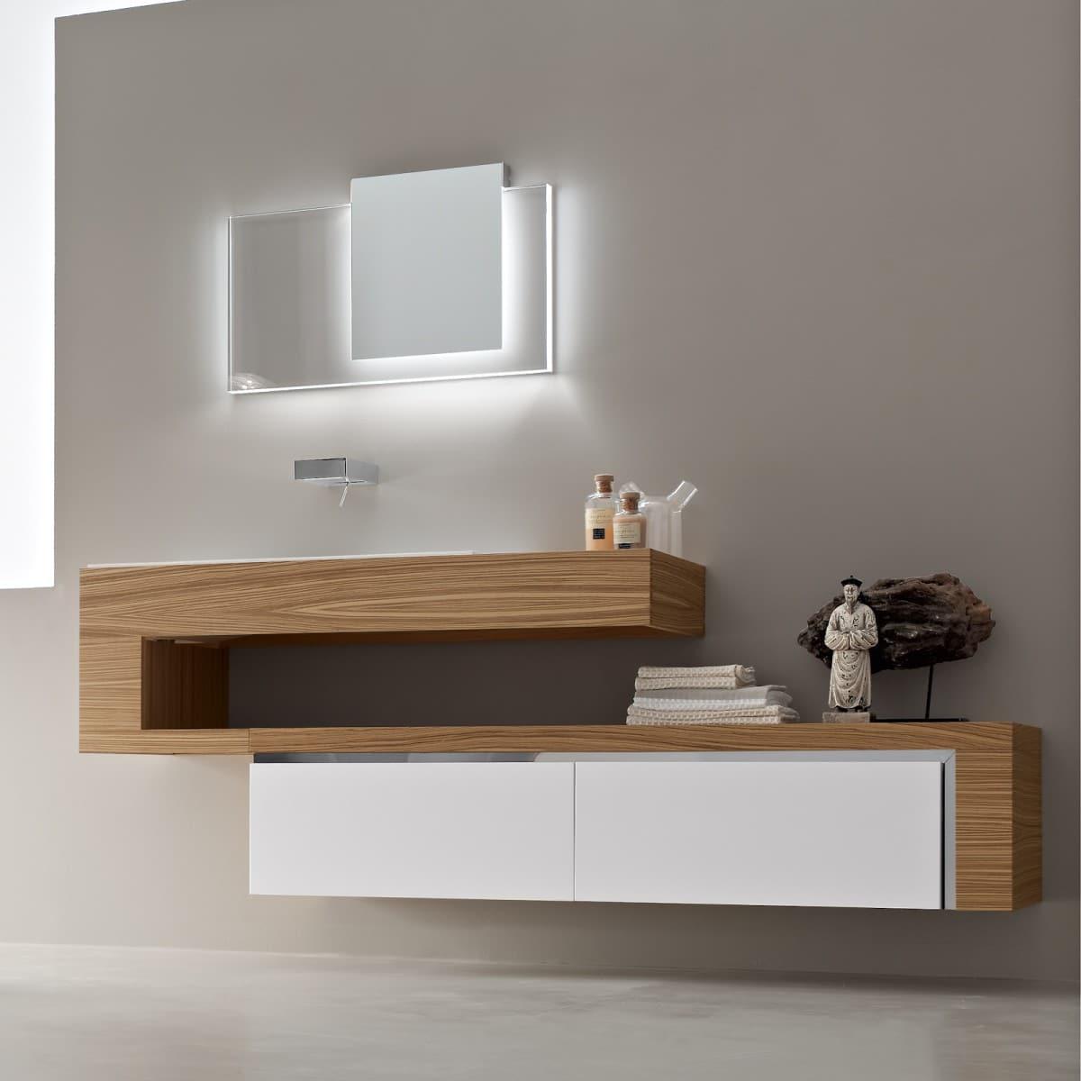 Mueble Baño Moderno | Diseno De Cuartos De Bano Modernos Fotos Construye Hogar