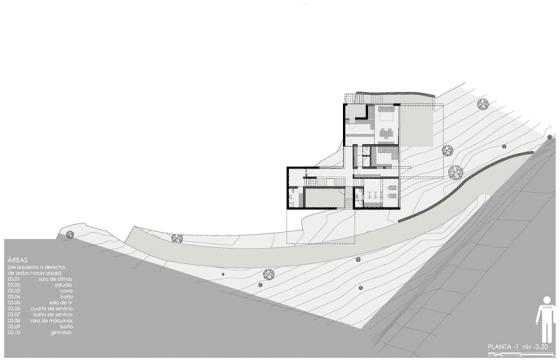 Plano de casa moderna 3