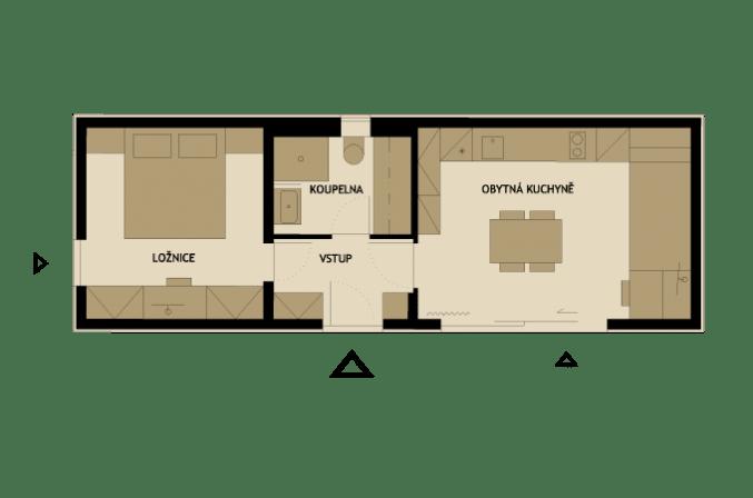 3 modelos de planos de casas peque as de madera - Planos de casas de una planta pequenas ...