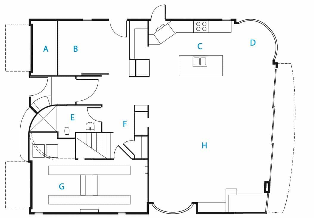 Dise o de casa de dos pisos 100 autosustentable con - Diseno de planos de casas ...