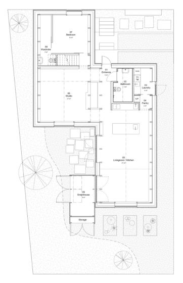 Planos de casa de aluminio