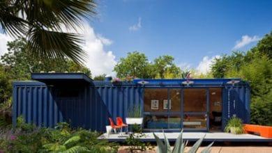Photo of Diseño de casa pequeña hecha de contenedor reciclado, interesante decoración minimalista y techo jardín