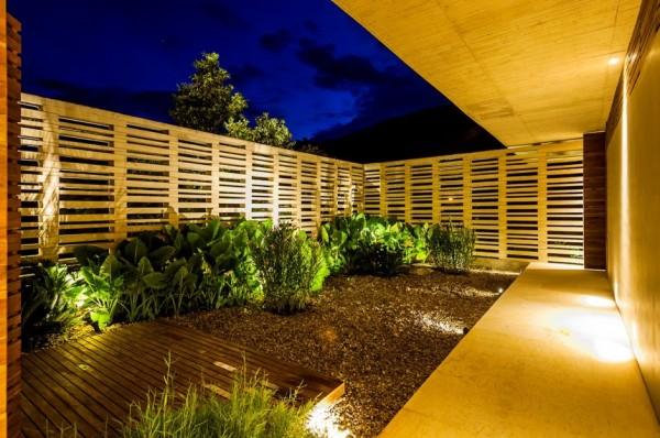 Planos de casa de campo de un piso moderno dise o - Vallas decorativas para jardin ...