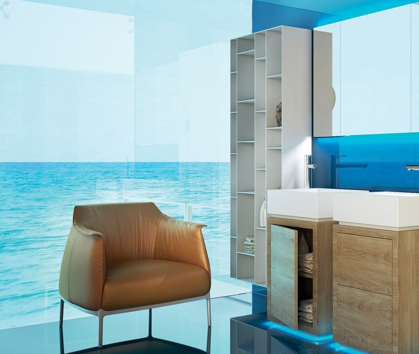 Decoraci n de cuartos de ba o modernos dise os exclusivos for Decoracion de hogar moderno