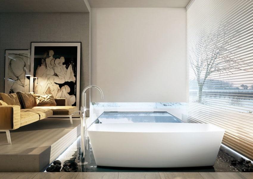 Decoraci n de cuartos de ba o modernos dise os exclusivos - Habitaciones disenos modernos ...