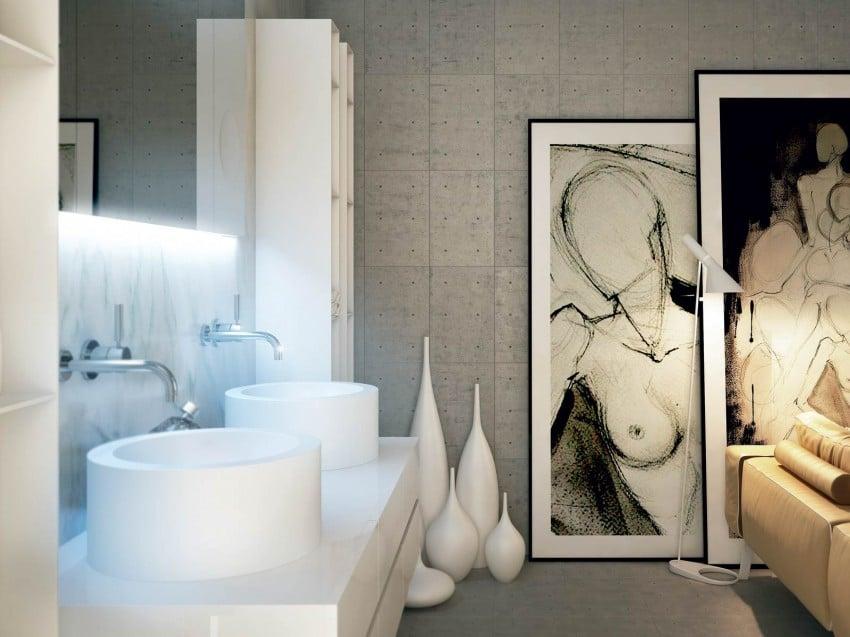 Decoraci n de cuartos de ba o modernos dise os exclusivos - Adornos para cuartos de bano ...