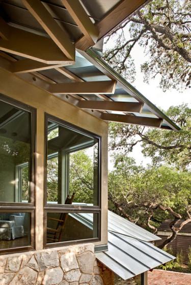 Detalles constructivos de casa rústica
