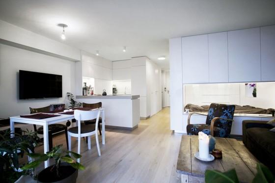 Diseño de apartamento para soltero