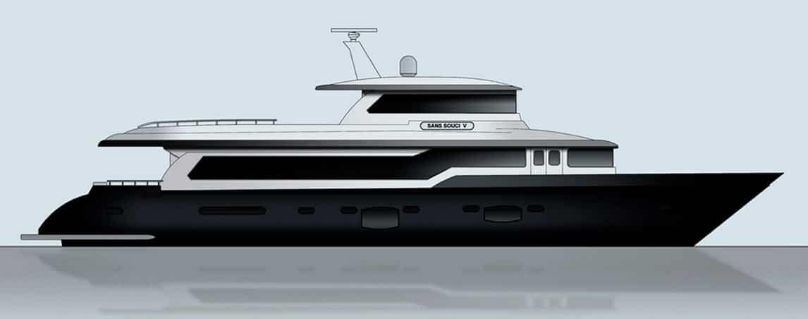 Dise o de planos de distribuci n de un moderno barco for Como cocinar alubias de bote