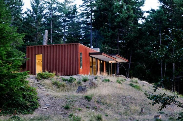 Dise o de casa de campo econ mica y moderna construcci n for Viviendas de campo modernas