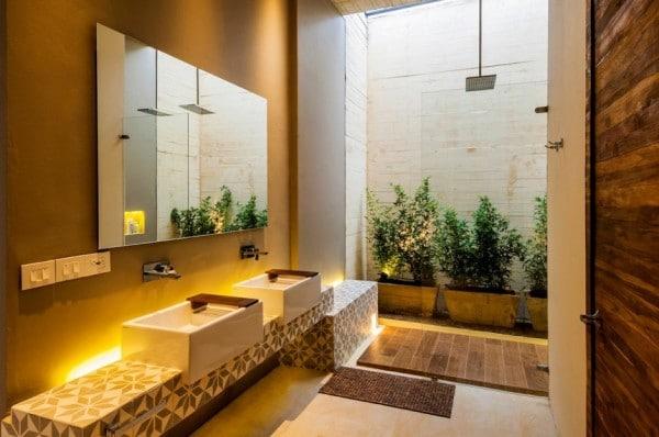 Planos de casa de campo de un piso moderno dise o for Casa y diseno banos
