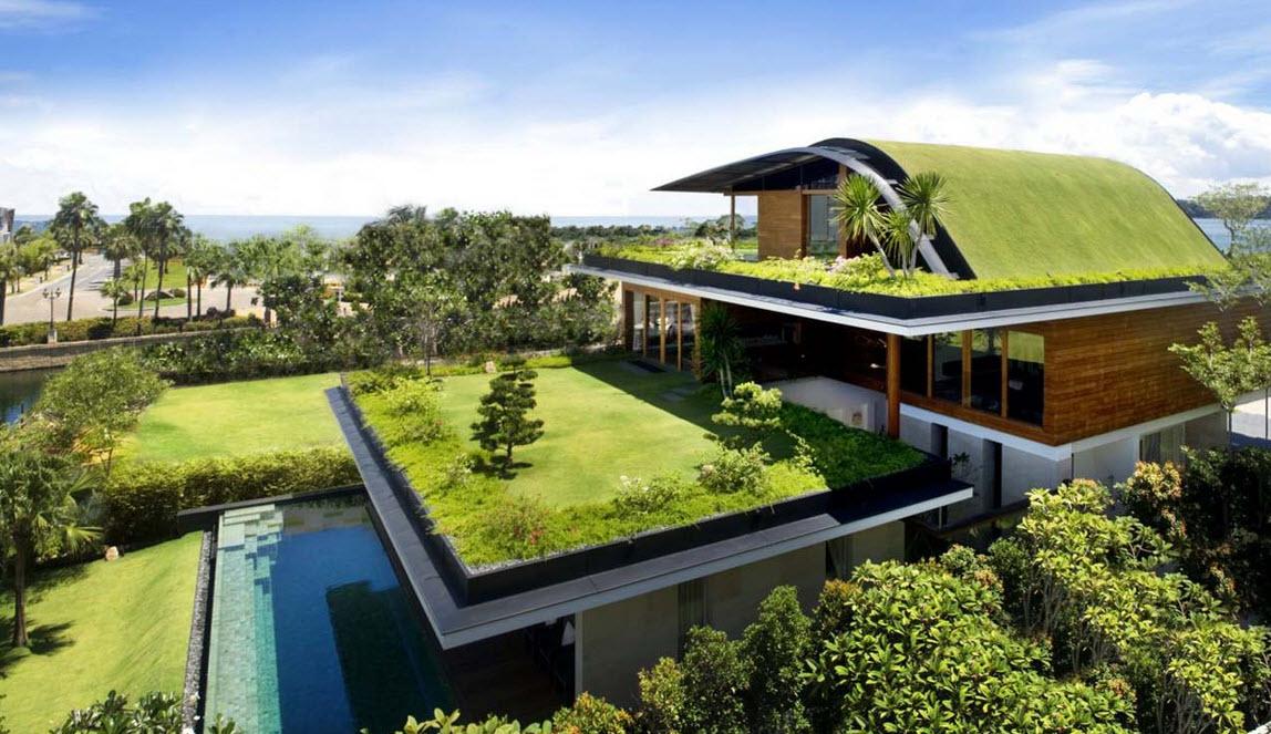 10 hermosos dise os de jard n en el techo de la casa - El jardin en casa ...