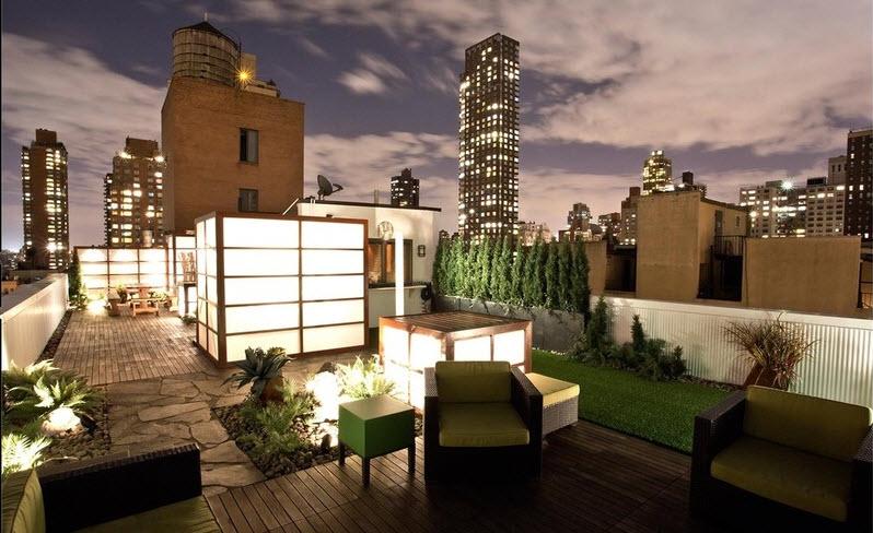 10 hermosos dise os de jard n en el techo de la casa for Como hacer un jardin japones en una terraza