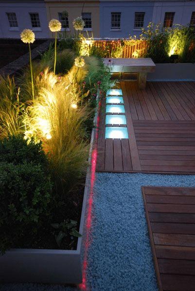 10 hermosos dise os de jard n en el techo de la casa for Diseno iluminacion jardines
