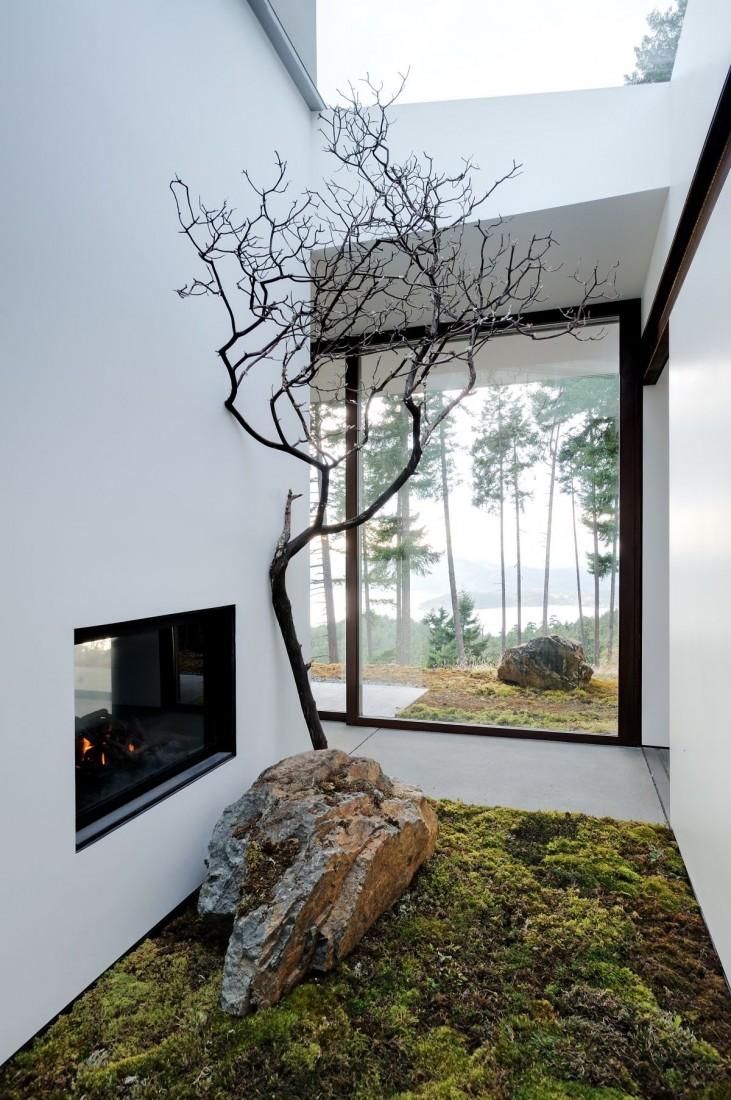 Dise o de casa de campo econ mica y moderna construcci n for Design moderno casa