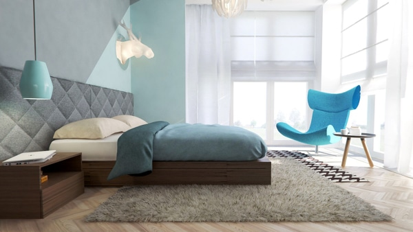 Decoraci n de interiores juveniles ideas de dise o - Dormitorios juveniles modernos de diseno ...
