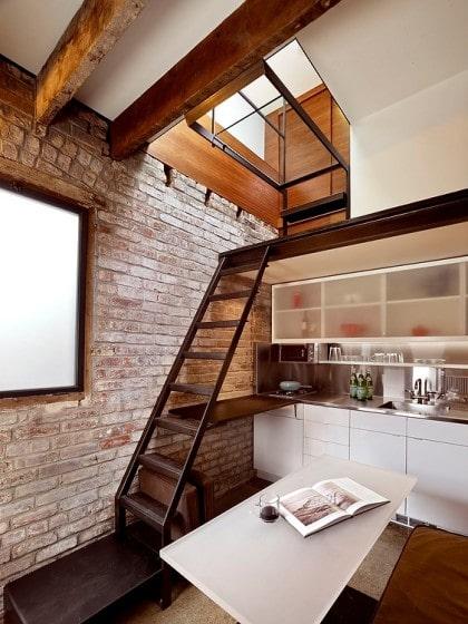 Diseño de pequeña cocina de casa