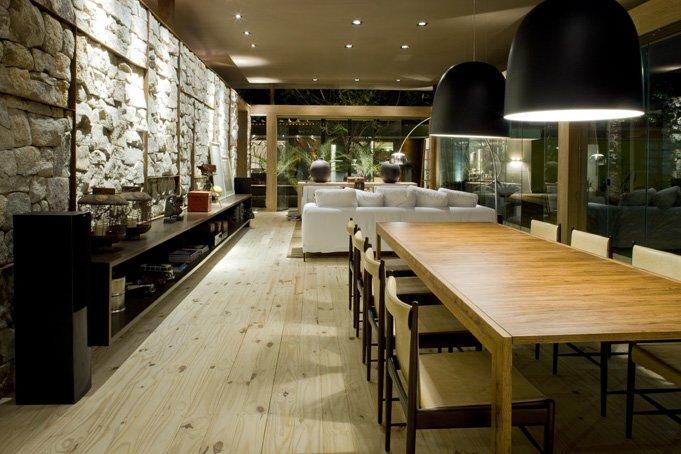Planos de casa peque a de un dormitorio fachada e interior Diseno de interiores salas comedor pequenas