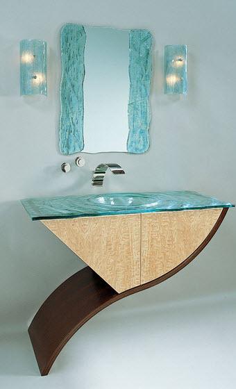 Diseño original de cuarto de baño