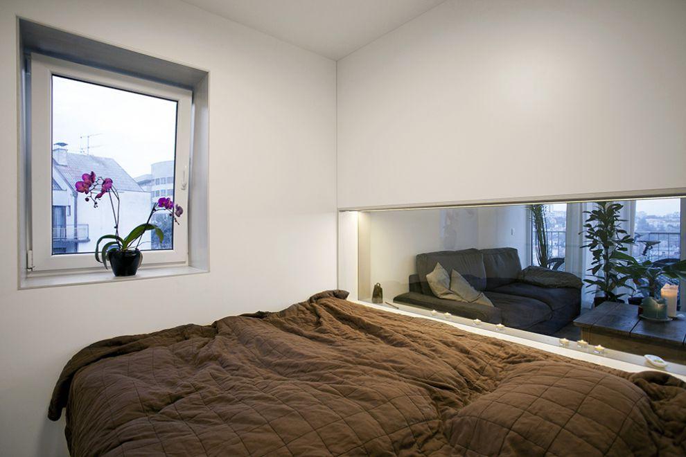 Dise o de plano de apartamento peque o de un dormitorio - Disenos de dormitorios pequenos ...