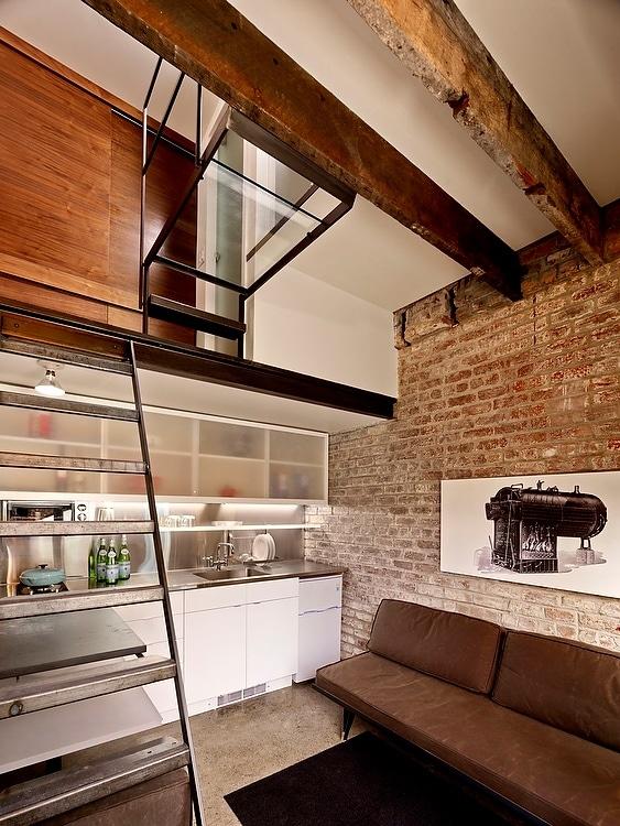 Construir habitaci n mini apartamento en patio de casa for Estructura de una cocina industrial