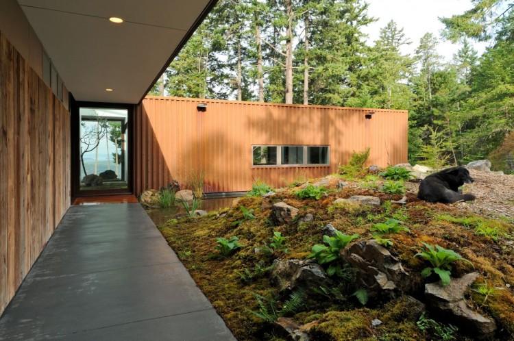 Dise o de casa de campo econ mica y moderna construcci n for Como construir una casa de campo