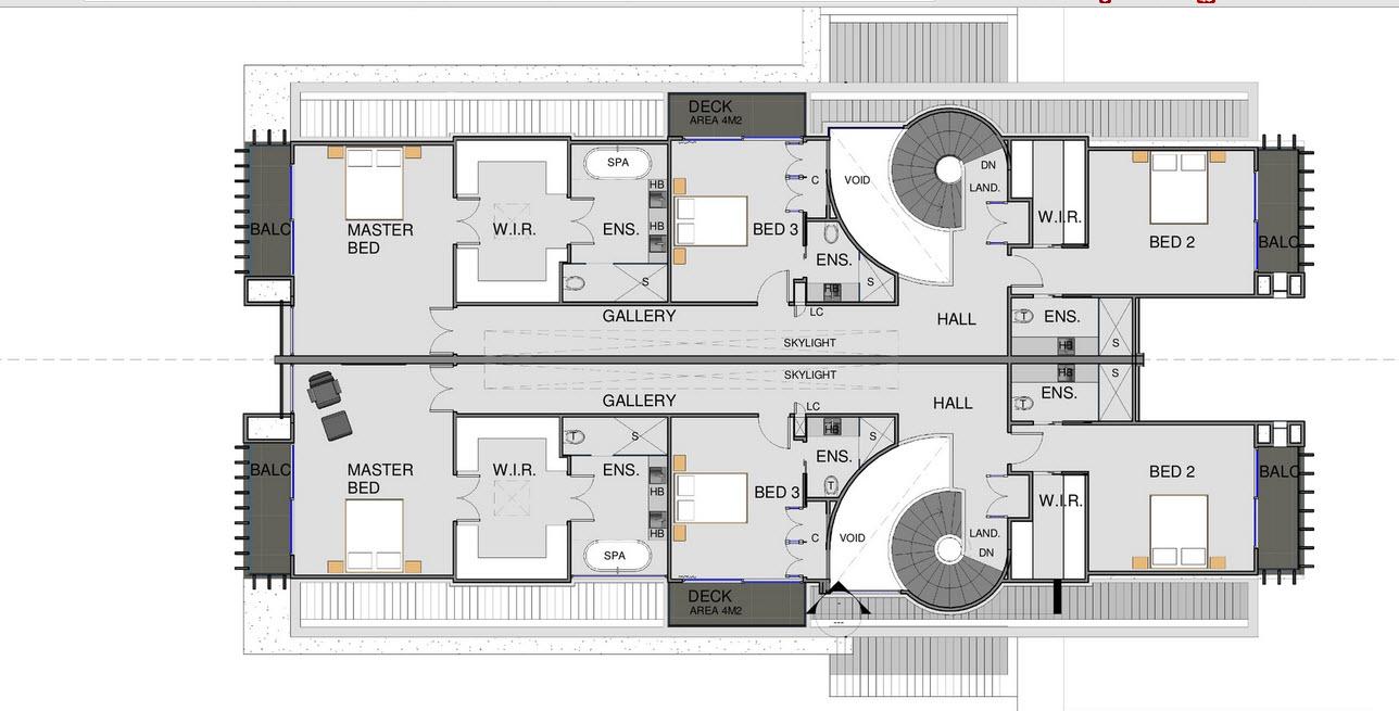 Planos Dos Casas En Una Dividir Casa En Dos Partes