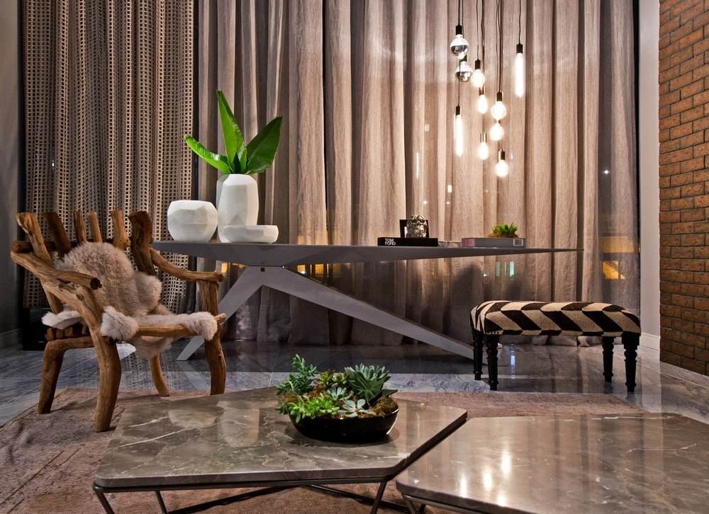 Dise o de apartamento tipo loft moderna decoraci n for Decoracion rustica moderna