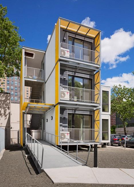 Dise o de casas modulares apilables planos e interiores Pisos modernos para casas minimalistas
