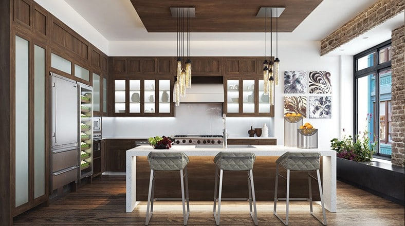 Dise o de interiores de apartamento de lujo construye hogar for Decoracion de pisos interiores