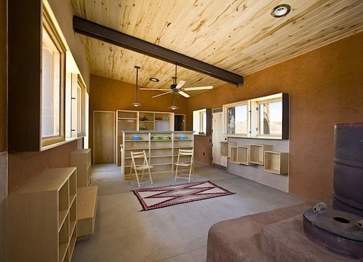 Dise O De Casa Peque A Reciclada Materiales Construcci N