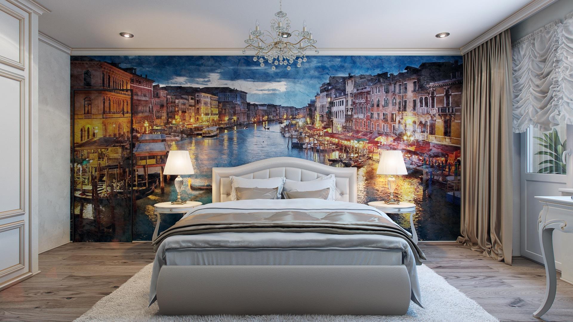 10 decoraciones de dormitorios que te inspiraran for Diseno de paredes con cuadros