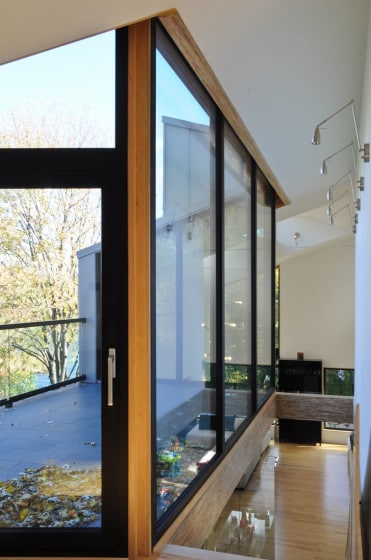 Diseño de interiores de ventan casa pasiva 2
