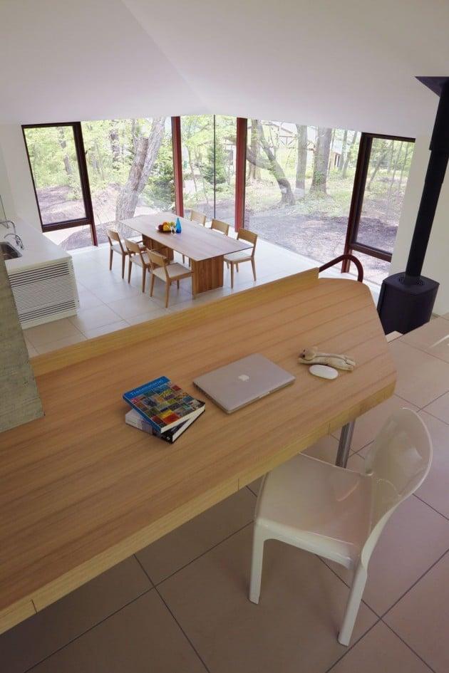 Dise o de casa de campo moderna construida en concreto for Diseno de hogar