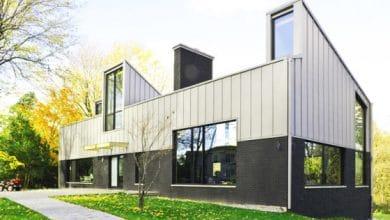 Photo of Diseño de casa pasiva de dos pisos, orientación de ventanas para aprovechar la energía solar y climatizar interiores