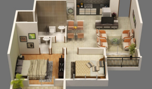 3d construye hogar for Diseno de casas 3d online
