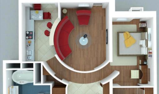 Planos construye hogar for Disenos departamentos pequenos planos