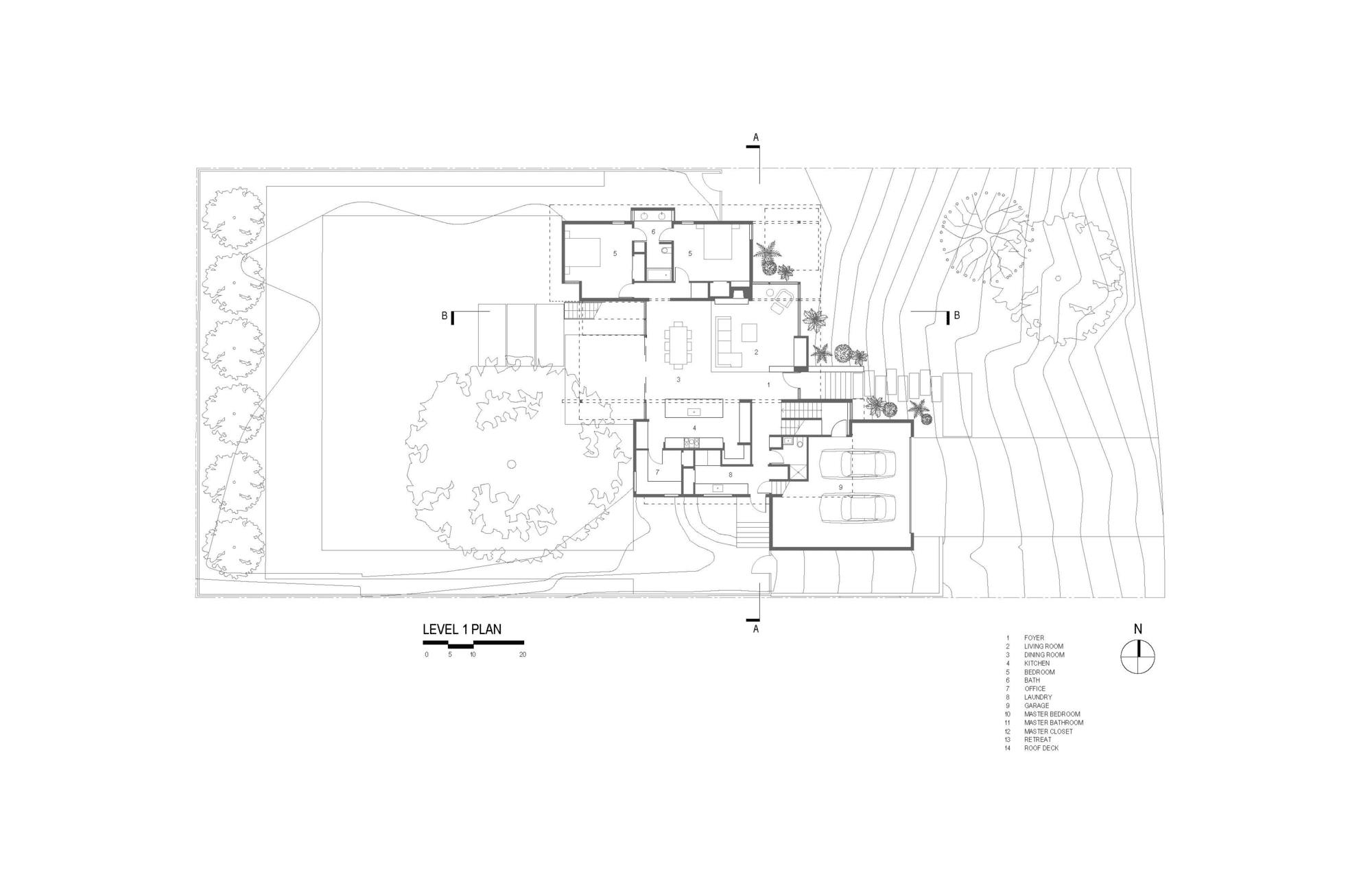 planos de casa de dos pisos grande, fachada e interiores
